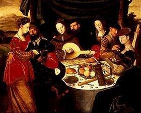 Ambrosius Benson: Eine musikalische Gesellschaft