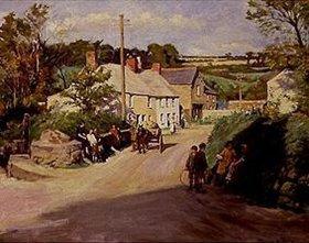 Stanhope Alexander Forbes: Dorfszene in Cornwall