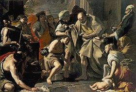 Mattia Preti: Samuel salbt David
