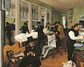 Edgar Degas: Die Baumwollbörse in New Orleans