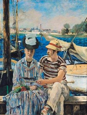 Edouard Manet: Argenteuil
