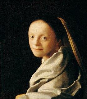 Jan Vermeer van Delft: Portrait einer jungen Frau