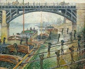 Claude Monet: Die Kohlenträger, 1875