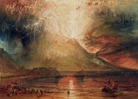 Joseph Mallord William Turner: Ausbruch des Vesuvs