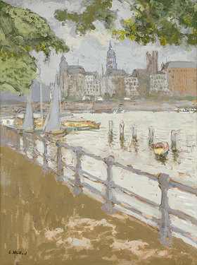 Edouard Vuillard: Ansicht der Binnenalster