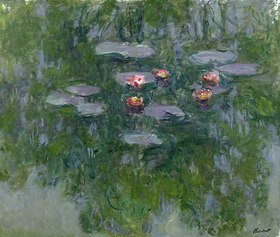 Claude Monet: Nympheas, Wasserlilien