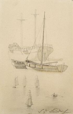 Caspar David Friedrich: Schiffe