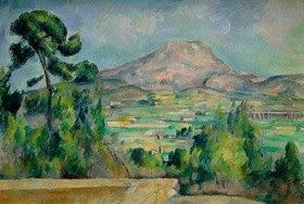 Paul Cézanne: Montagne Sainte-Victoire, c
