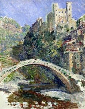 Claude Monet: Das Schloss von Dolceacqua