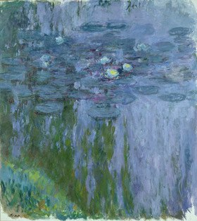 Claude Monet: Nympheas, Wasserlilien, seerosen