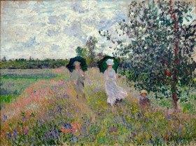 Claude Monet: Promenade bei Argenteuil