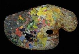 Claude Monet: Palette from Monet