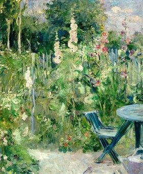 Berthe Morisot: Malven, Stockrosen