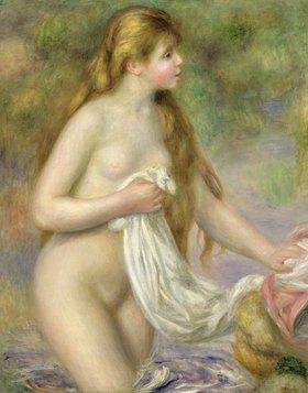Auguste Renoir: Badende mit langem Haar