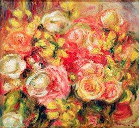Auguste Renoir: Rosen