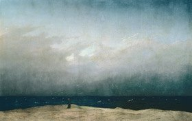 Caspar David Friedrich: Monk by the Sea