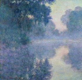Claude Monet: Arm der Seine bei Giverny