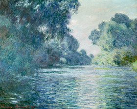 Claude Monet: Branch of the Seine near Giverny