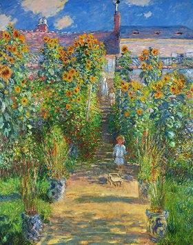 Claude Monet: Der Garten des Künstlers in Vétheuil
