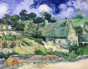 Vincent van Gogh: Thatched cottages at Cordeville, Auvers-sur-Oise