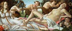 Sandro Botticelli: Venus and Mars