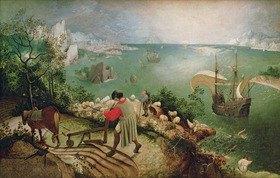 Pieter Brueghel d.Ä.: Der Fall des Ikarus