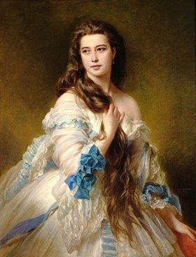 Franz Xaver Winterhalter: Portrait von Madame Rimsky-Korsakov