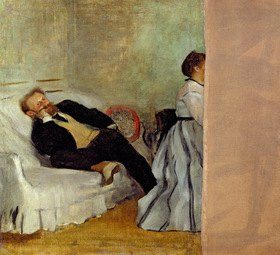 Edgar Degas: Monsieur and Madame Edouard Manet