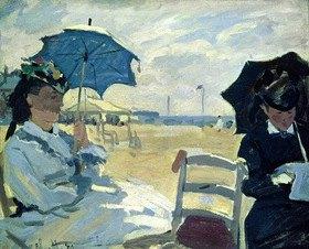 Claude Monet: Der Strand bei Trouville