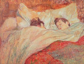 Henri de Toulouse-Lautrec: Das Bett