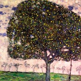Gustav Klimt: The Apple Tree II