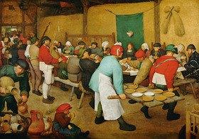 Pieter Brueghel d.Ä.: Bauernhochzeit