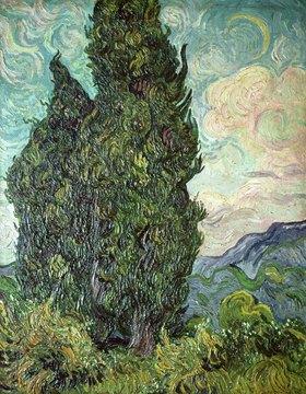 Vincent van Gogh: Zypressen