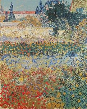 Vincent van Gogh: Garten in Blüte, Blühender Garten, Arles