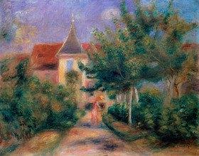 Auguste Renoir: Renoirs Haus bei Essoyes