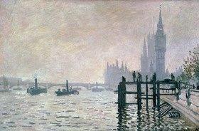 Claude Monet: Die Themse unterhalb von Westminster