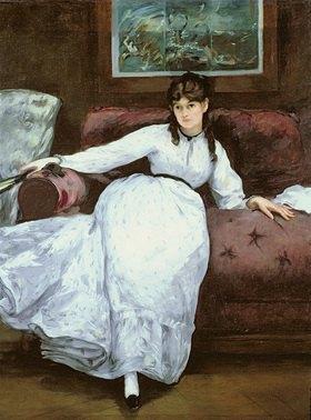 Edouard Manet: Portrait of Berthe Morisot