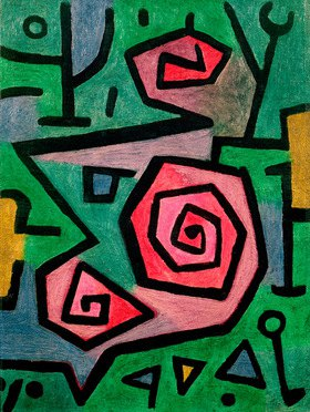 Paul Klee: Heroische Rosen