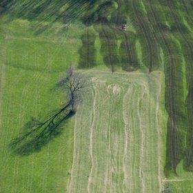 Günter Kozeny: Luftaufnahme, Luftbild