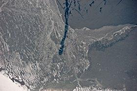 Günter Kozeny: Tegernsee; Eisfläche