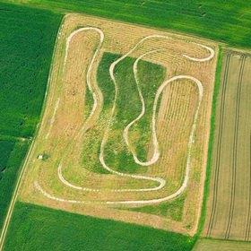 Günter Kozeny: Motocross-Strecke