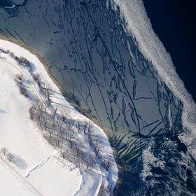 Günter Kozeny: Eis auf dem Tegernsee