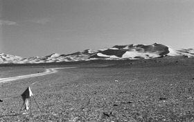 Günter Kozeny: Dünenlandschaft in Marokko
