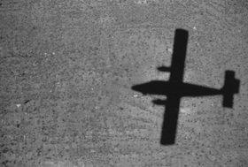Günter Kozeny: Flugzeugschatten
