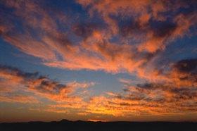 Günter Kozeny: Namibia, »Sundowner«