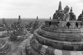 Günter Kozeny: Indonesien; Java, Buddhistische Tempelanlage BOROBODUR