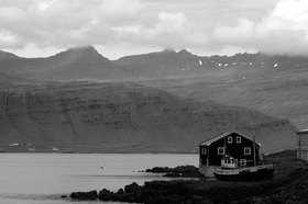 Günter Kozeny: Island; Fijord; Ostküste