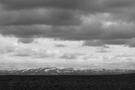 Günter Kozeny: Island; Landschaft im Norden