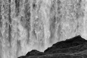 Günter Kozeny: Island; Wasserfall »Dettifoss«