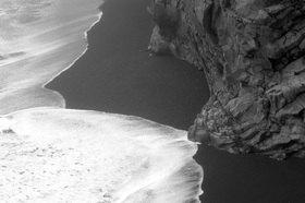 Günter Kozeny: Island; Küste bei Cap Dyrholey